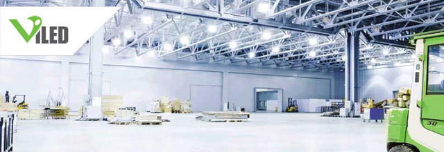 Освещение промышленных помещений, торговых площадей и ЖКХ