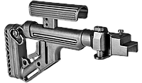 Fab defense Приклад складной FAB-Defense UAS-AK с регулируемым подщечником для АК-47/74 (металлическая версия)