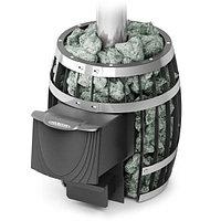 Дровяная печь Саяны Мини Carbon.Объем парилки куб.м.:4-9.