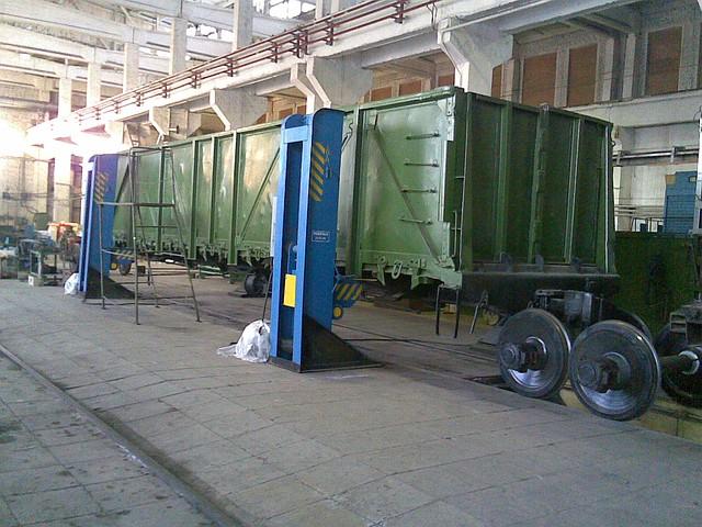 Деповской ремонт полувагонов