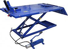 Подъемник для мото и квадроциклов с пневмоприводом и управлением ногой, г/п 680 кг NORDBERG N4M4