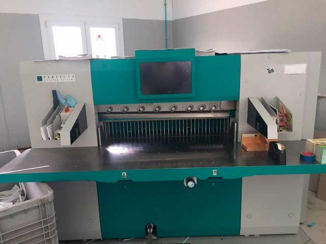Perfecta 115TS б/у 2009г - бумагорезальная машина