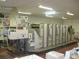 Sakurai Oliver 475SD б/у 2004 - 4-красочная печатная машина