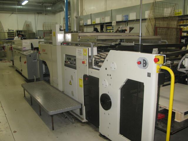 Sakurai SC-102-AII б/у 2008г - уф-лакировочная машина
