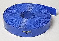 Лейфлет Monoflat  Ø 6'', 3,5атм. Синий, в бухте 100м.  Heliflex, фото 1