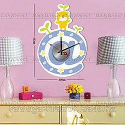Часы-стикеры (размер 43х30 см)