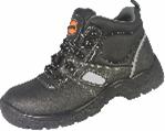 Ботинки из натуральной тисненной кожи с металлической стелькой