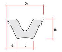 Уплотнение ПЧР (250 л) резина