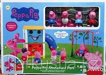 Свинка Пеппа Парк развлечений, набор(не оригинал)