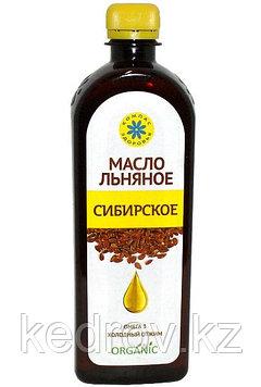 """Масло льняное """"Сибирское"""" 500 мл"""