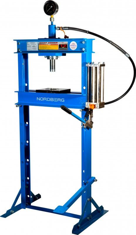 Пресс с ножным приводом, усилие 12 тонн NORDBERG N3612FL