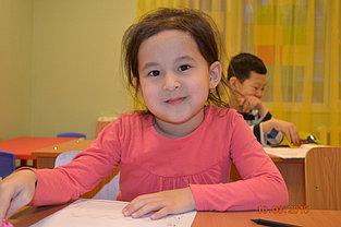 """Занятия в группах по """"Подготовке к школе"""" на казахском и русском языке, полный день и кратковременное пребывание детей. 1"""