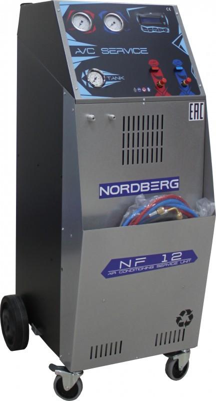 Автоматическая установка для заправки автомобильных кондиционеров NORDBERG NF12 (Италия)