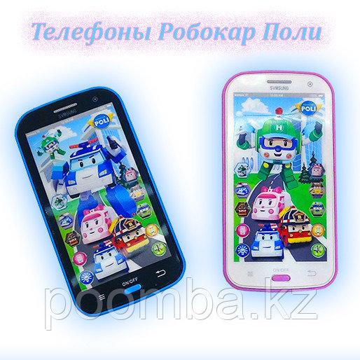 """Музыкальный сенсорный телефон """"Робокар Поли"""" Robocar Poli"""