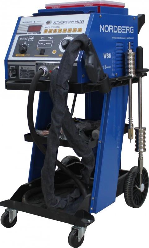 Аппарат точечной сварки NORDBERG WS6 (220В/380В)