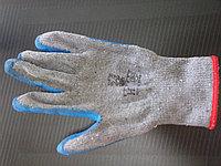 Перчатки утепленные с резиновым покрытием