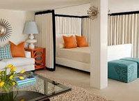 Объединение спальной комнаты и гостинной