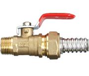 Кран шаровый труба-наружная резьба NHV 15-1/2 Flexy HYD