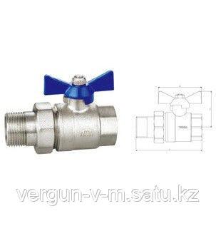 Кран шаровый F-MBC 15 WTm (W10242)