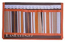 Органайзер для хранения мелочей треугольный коричневый