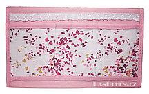 Органайзер для хранения мелочей треугольный розовый