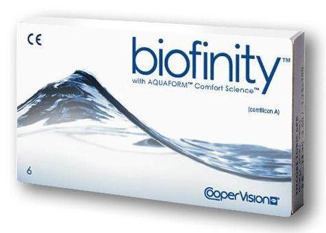 Biofinity силикон-гидрогелевые контактные линзы (6 штук) - фото 3
