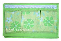 Органайзер для хранения мелочей треугольный зеленый