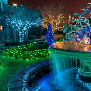 праздничное освещение