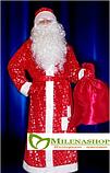 Костюм Дедушки Мороза 7 предметов в комплекте, фото 2