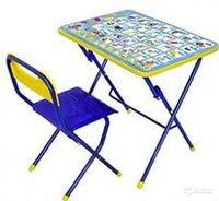 Детский стол и стул НИКА Азбука Disney 2, фото 1