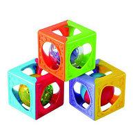 """Playgo Развивающая игрушка """"Кубики-погремушки"""", фото 1"""