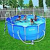 Бассейн каркасный 366х122 см, V-10250л, Bestway 56088/56420 с фильтром и аксессуарами