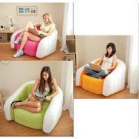 Кресло надувное 97х76х69 см, max 100 кг, Intex 68571, поверхность флок