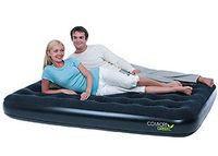 Матрас надувной двуспальный 191х137х22 см, max 200 кг, Bestway 67380, поверхность флок