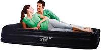 Кровать надувная двуспальная 203x152x38 см, max 295 кг, Bestway 67430, поверхность флок, встроенный насос