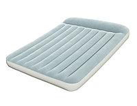 Кровать надувная двуспальная 203х152х30 см, max 273 кг, Bestway Comfort Quest 67464, поверхность флок, встроенный насос