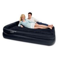 Кровать надувная двуспальная 203х163х48 см, max 273 кг, Bestway 67345, поверхность флок, встроенный насос