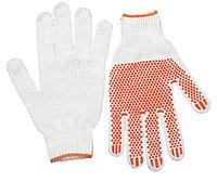 """Перчатки STAYER """"МASTER"""" трикотажные, 7 класс, х/б, с защитой от скольжения, L-XL"""