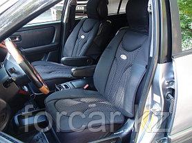 Накидки на передние сиденья Piton Ergonomic 2 шт. (Болгария) черные, серые, бежевые, фото 2