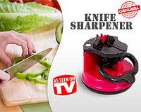 Универсальная Точилка для ножей Knife Sharpener with Suction Pad
