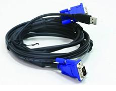 D-link DKVM-CU Кабель KVM для подключения клавиатуры, мыши и монитора