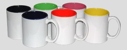 Кружка для сублимации, цветная внутри (10цв.)