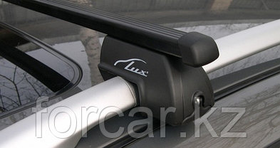 """Багажная система """"LUX РЧ"""" с дугами 1,3м прямоугольными в пластике для а/м с рейлингами, фото 2"""
