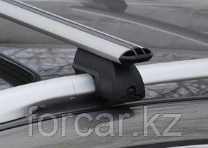 Комплект поперечин (дуг) на стандартные рейлинги LUX РА (Россия) аэродинамический профиль шириной 73 мм, фото 3