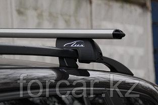 Комплект поперечин (дуг) на стандартные рейлинги LUX РА (Россия) аэродинамический профиль шириной 73 мм, фото 2