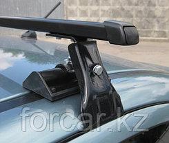 Багажник  Муравей Д-1 (Д-2) универсальный для гладкой крыши с креплением за дверной проем, фото 2
