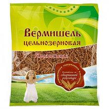 Вермишель цельнозерновая пшеничная 350гр [Дивинка]