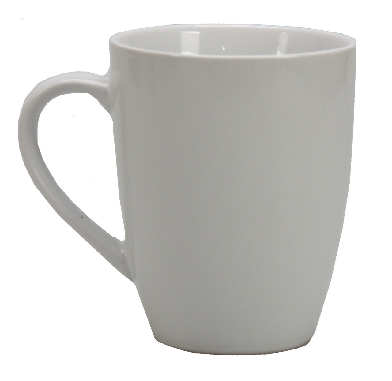 Кружка керамическая (белая)