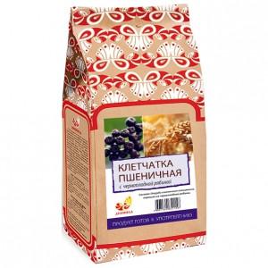 Клетчатка пшеничная с черноплодной рябиной 300гр крафт/п [Дивинка]
