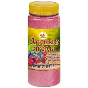 Лесные ягоды: клюква, брусника, черника (дроблёные) поднимает иммунитет 170гр порошок [Дивинка]